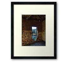 A View to the Olive Grove Framed Print
