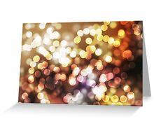 Abstract yellow wallpaper Greeting Card