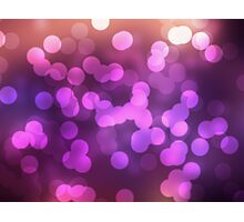 Abstract pink view background Photographic Print