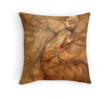 Marmalade Sleep Throw Pillow