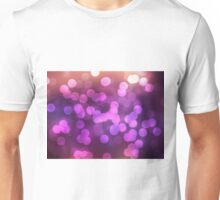 Abstract pink view background Unisex T-Shirt
