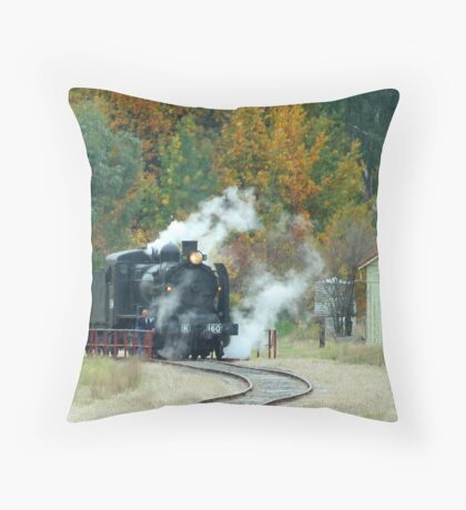 ~ Story Book Engine ~ Throw Pillow