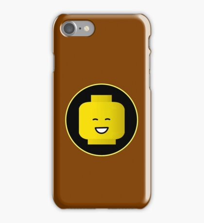 MINIFIG HAPPY FACE iPhone Case/Skin