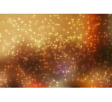 Stars abstract background Photographic Print