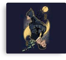 wayne card Canvas Print