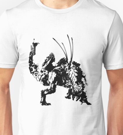 Weathered Thunderjaw Horizon Zero Dawn Unisex T-Shirt