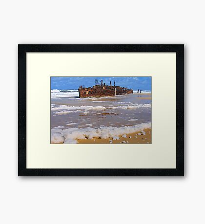 The Maheno Framed Print