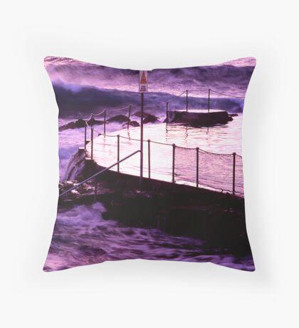 Bronte Sea Pool Throw Pillow