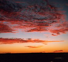 Australian Outback Sunset by Cindy-Anne  Productions