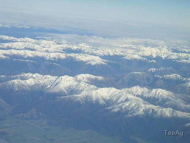 Southern Alps.  by TeeAy
