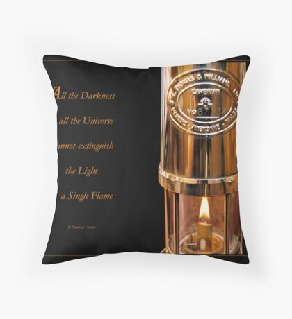 Let your light shine... Throw Pillow