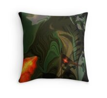 St GEORGE AND THE DRAGON Throw Pillow