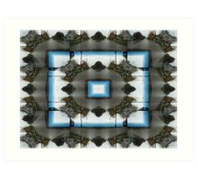 Streetscape Abstract Art Print