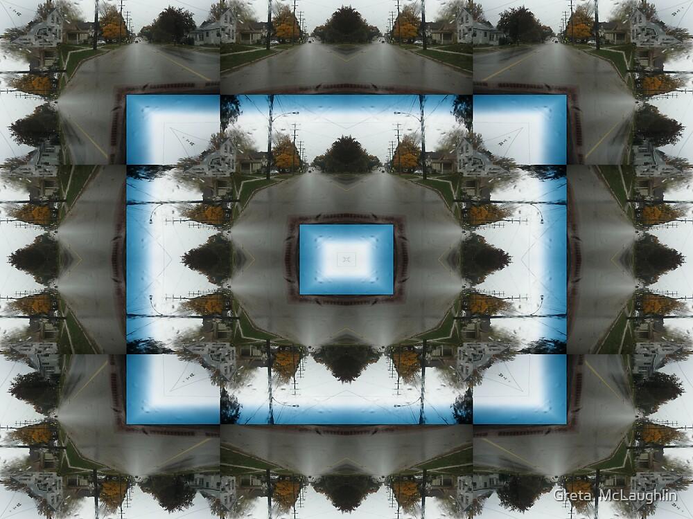 Streetscape Abstract by Greta  McLaughlin