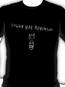Jean Michel Basquiat's Sugar Ray Robinson T-Shirt