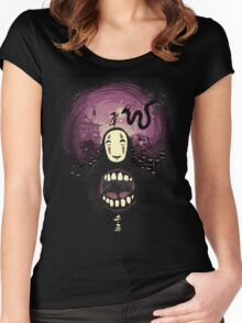 Spirit nightmare (chihiro) Women's Fitted Scoop T-Shirt