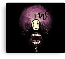 Spirit nightmare (chihiro) Canvas Print