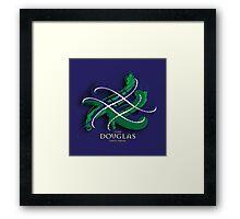 Douglas Tartan Twist Framed Print