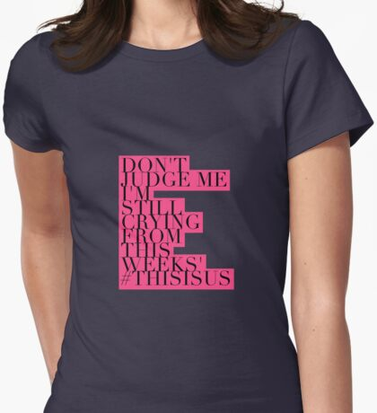 This Is Us Womens Fitted T-Shirt