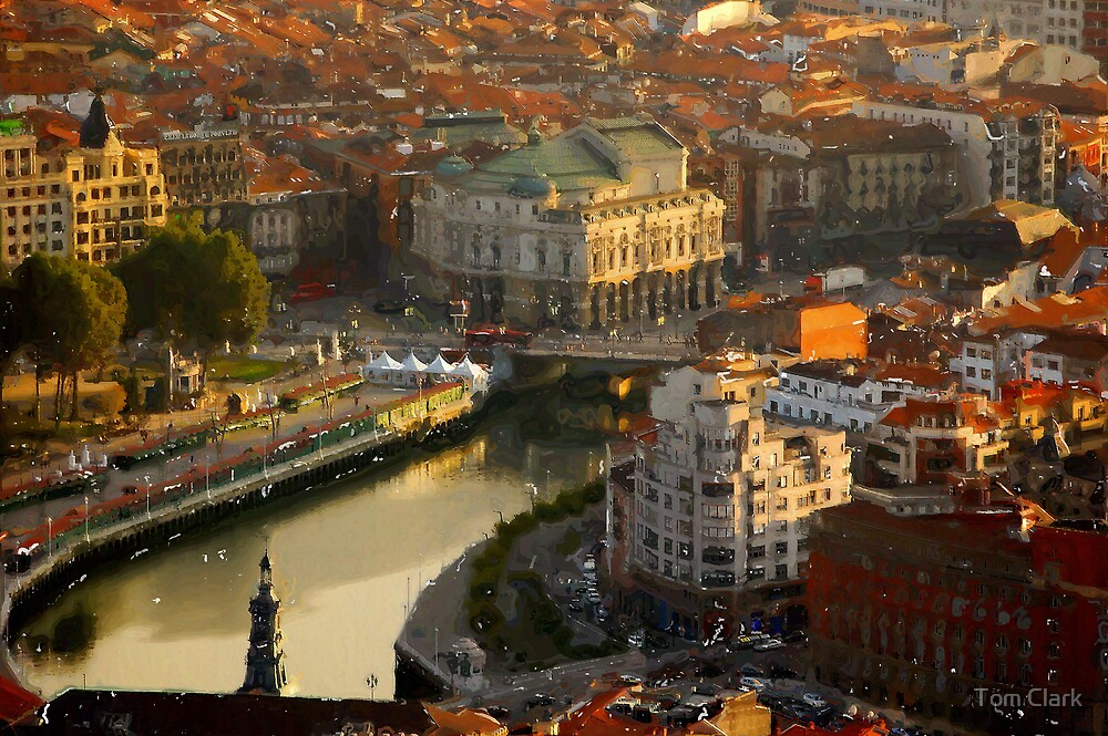 City of Bilbao #2 by Tom Clark