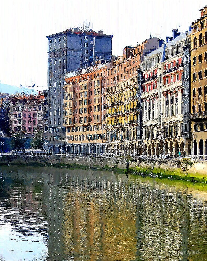 City of Bilbao #3 by Tom Clark