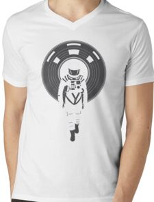 DJ HAL 9000 Mens V-Neck T-Shirt