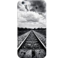 Train Track - On the track to somewhere  iPhone Case/Skin