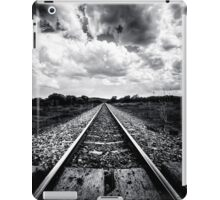 Train Track - On the track to somewhere  iPad Case/Skin