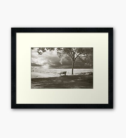 Waiting for Infinity  Framed Print