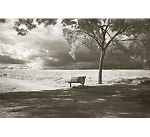 Waiting for Infinity  Photographic Print