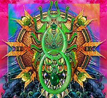 Beetle Mandala P by paxempire