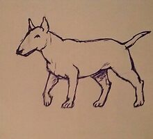 Bull Terrier by lisasilver