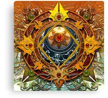 Star Mandala P Canvas Print