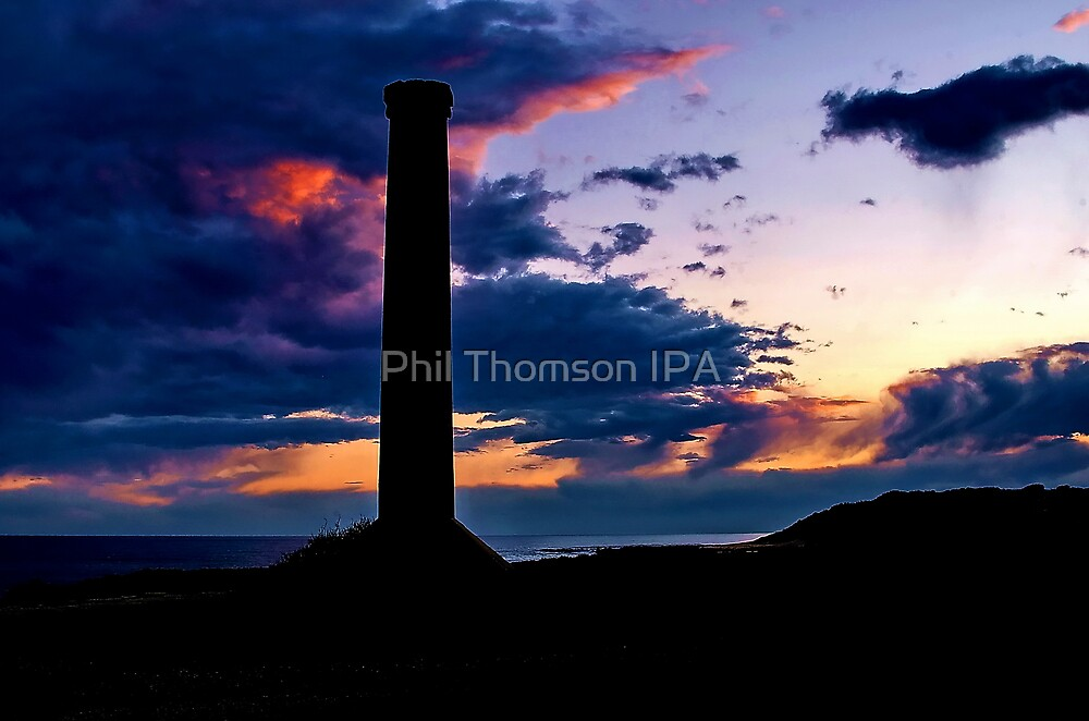 """""""Sunset Storm at Black Rock"""" by Phil Thomson IPA"""