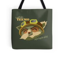 Captain Teemo Tote Bag