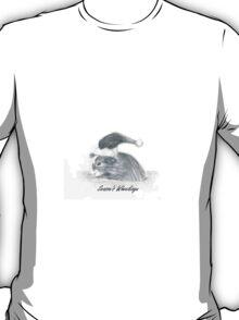Guinea Pig Christmas Xmas Greetings T-Shirt