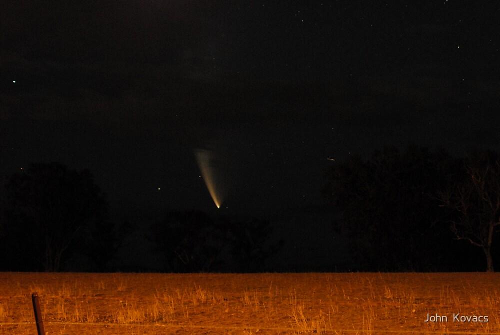 Comet Mc Naught No1 by John  Kovacs