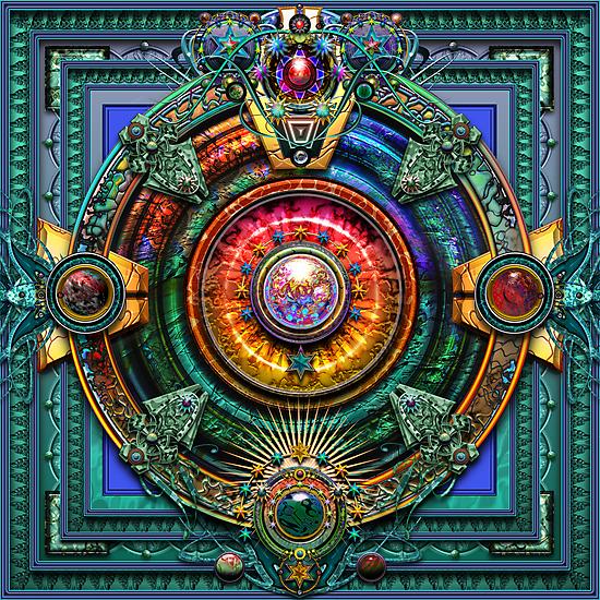 Earth Mandala  by paxempire