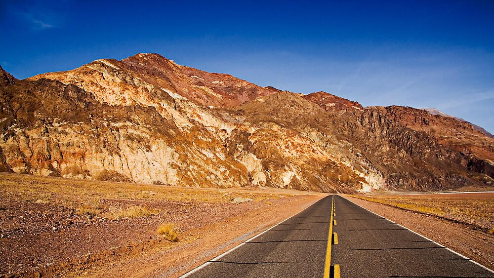 Driving Death Valley by morealtitude