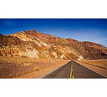 Driving Death Valley Photographic Print