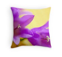 Flower macro extreme Throw Pillow