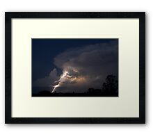 Bolt from the Blue Framed Print