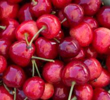 Cherry Red Sticker