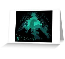 Forest Dwellers Greeting Card