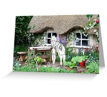 At the Cottage Greeting Card