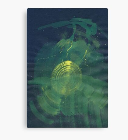Hills - 0002 - The Green Canvas Print