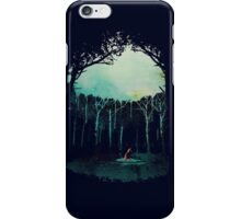 Deep in the forest iPhone Case/Skin