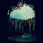 « Deep in the forest » par Robert Farkas