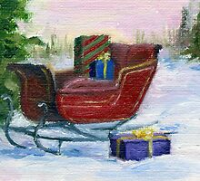 Sleigh by Brenda Thour
