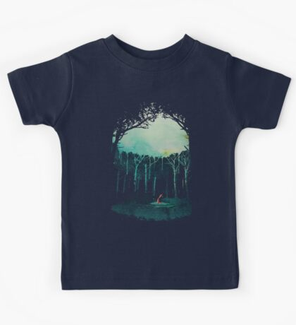 Deep in the forest Kids Tee
